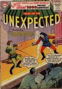 Cover Thumbnail for Tales of the Unexpected (DC, 1956 series) #5