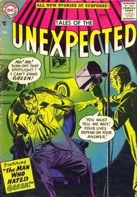 Cover Thumbnail for Tales of the Unexpected (DC, 1956 series) #11