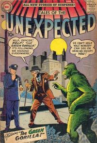 Cover Thumbnail for Tales of the Unexpected (DC, 1956 series) #14