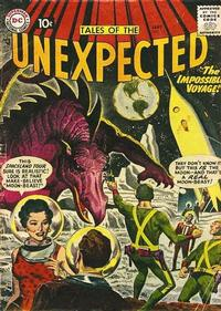 Cover Thumbnail for Tales of the Unexpected (DC, 1956 series) #17