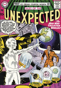 Cover for Tales of the Unexpected (DC, 1956 series) #18