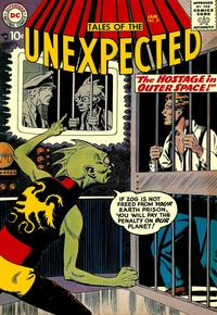 Cover Thumbnail for Tales of the Unexpected (DC, 1956 series) #21