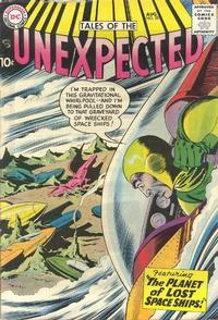 Cover Thumbnail for Tales of the Unexpected (DC, 1956 series) #28