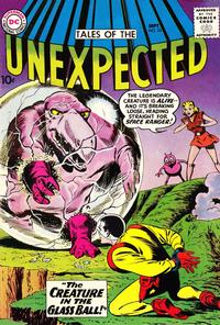Cover Thumbnail for Tales of the Unexpected (DC, 1956 series) #53