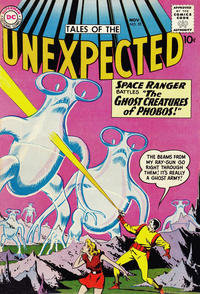 Cover Thumbnail for Tales of the Unexpected (DC, 1956 series) #55
