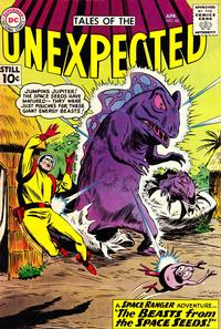 Cover Thumbnail for Tales of the Unexpected (DC, 1956 series) #60