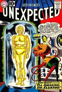 Cover Thumbnail for Tales of the Unexpected (DC, 1956 series) #66