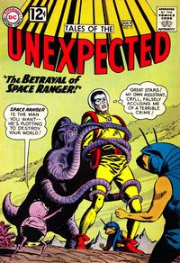 Cover Thumbnail for Tales of the Unexpected (DC, 1956 series) #71