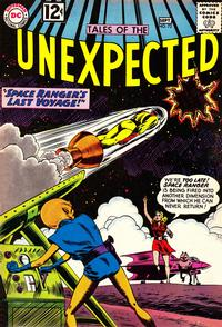 Cover Thumbnail for Tales of the Unexpected (DC, 1956 series) #72