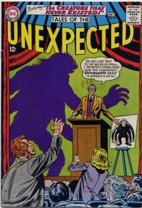 Cover for Tales of the Unexpected (DC, 1956 series) #89