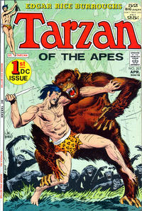 Cover for Tarzan (DC, 1972 series) #207
