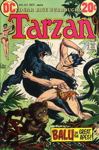 Cover for Tarzan (DC, 1972 series) #213
