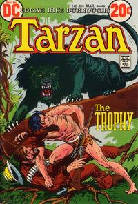 Cover for Tarzan (DC, 1972 series) #218
