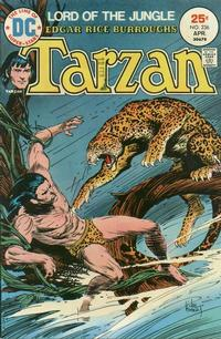 Cover for Tarzan (DC, 1972 series) #236