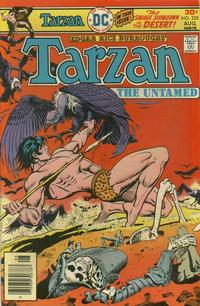 Cover for Tarzan (DC, 1972 series) #252