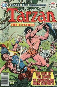 Cover Thumbnail for Tarzan (DC, 1972 series) #255