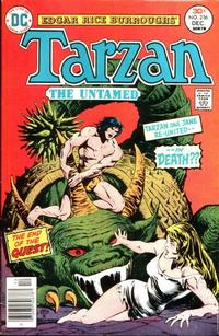 Cover Thumbnail for Tarzan (DC, 1972 series) #256
