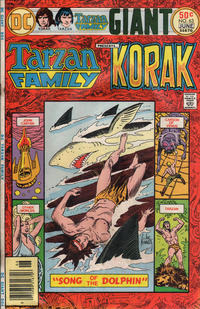 Cover Thumbnail for The Tarzan Family (DC, 1975 series) #63