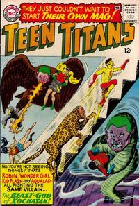Cover Thumbnail for Teen Titans (DC, 1966 series) #1