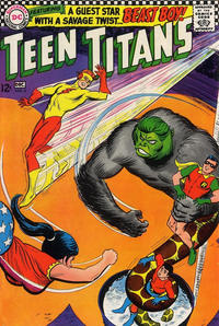 Cover Thumbnail for Teen Titans (DC, 1966 series) #6