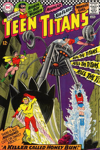 Cover Thumbnail for Teen Titans (DC, 1966 series) #8