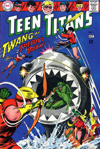 Cover Thumbnail for Teen Titans (DC, 1966 series) #11