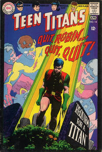 Cover Thumbnail for Teen Titans (DC, 1966 series) #14