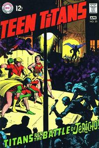 Cover Thumbnail for Teen Titans (DC, 1966 series) #20