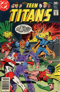 Cover for Teen Titans (DC, 1966 series) #52