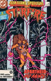 Cover Thumbnail for Teen Titans Spotlight (DC, 1986 series) #1 [Direct]