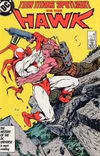 Cover for Teen Titans Spotlight (DC, 1986 series) #8 [Direct Sales]
