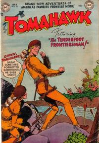 Cover Thumbnail for Tomahawk (DC, 1950 series) #25
