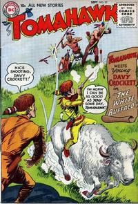 Cover Thumbnail for Tomahawk (DC, 1950 series) #35