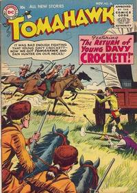 Cover Thumbnail for Tomahawk (DC, 1950 series) #36