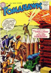 Cover Thumbnail for Tomahawk (DC, 1950 series) #37