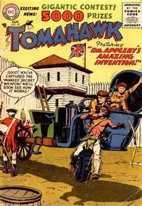 Cover Thumbnail for Tomahawk (DC, 1950 series) #42