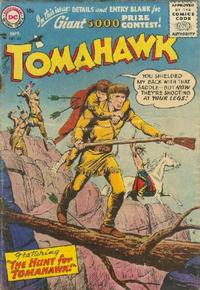 Cover Thumbnail for Tomahawk (DC, 1950 series) #43