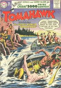 Cover Thumbnail for Tomahawk (DC, 1950 series) #44
