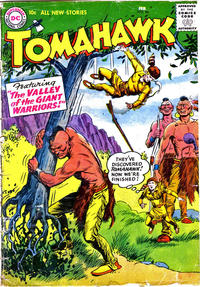 Cover Thumbnail for Tomahawk (DC, 1950 series) #46