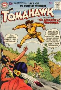 Cover Thumbnail for Tomahawk (DC, 1950 series) #48