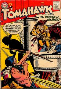 Cover Thumbnail for Tomahawk (DC, 1950 series) #49