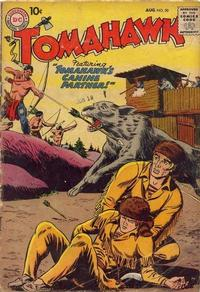 Cover Thumbnail for Tomahawk (DC, 1950 series) #50