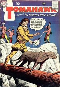 Cover Thumbnail for Tomahawk (DC, 1950 series) #57