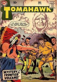 Cover Thumbnail for Tomahawk (DC, 1950 series) #60
