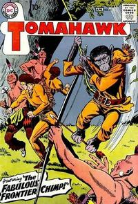 Cover Thumbnail for Tomahawk (DC, 1950 series) #61