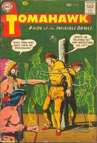 Cover Thumbnail for Tomahawk (DC, 1950 series) #62