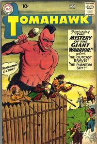 Cover Thumbnail for Tomahawk (DC, 1950 series) #64