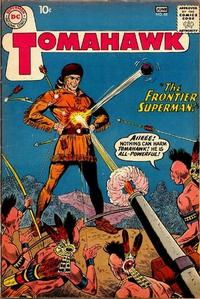 Cover Thumbnail for Tomahawk (DC, 1950 series) #68