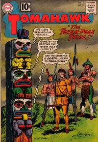 Cover Thumbnail for Tomahawk (DC, 1950 series) #76