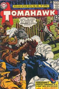Cover Thumbnail for Tomahawk (DC, 1950 series) #84